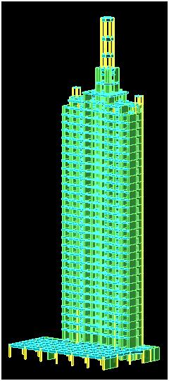 pkpm框架结构